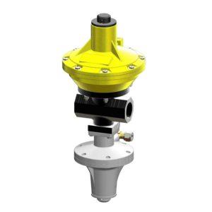 Регулятор давления газа COPRIM ALFA 10 BP со встроенным ПЗК BLC 10